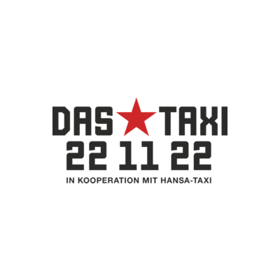 Needs translation: Logo von das Taxi