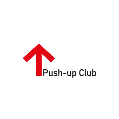 Needs translation: Logo des Push up-Clubs