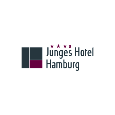 Needs translation: Logo Junges Hotel Hamburg