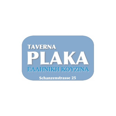 Needs translation: Logo Taverna Plaka