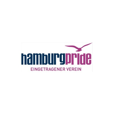 Needs translation: Logo hamburg pride