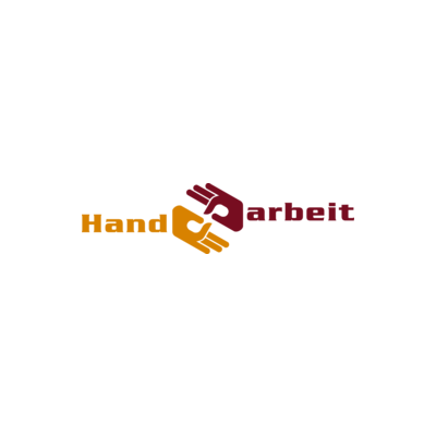 Needs translation: Handarbeit Logo