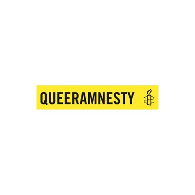 Needs translation: Logo Queer Amnesty