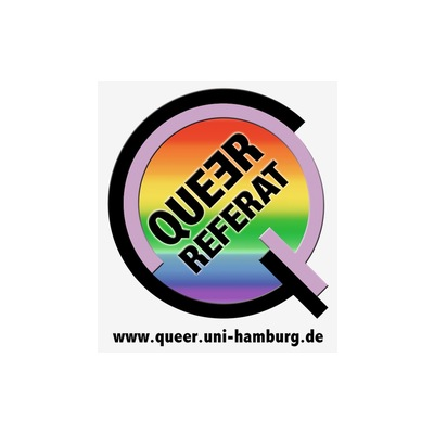 Needs translation: Logo Queerreferat